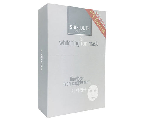 Shield Life Whitening Ion Mask (Brightening) - 10+3