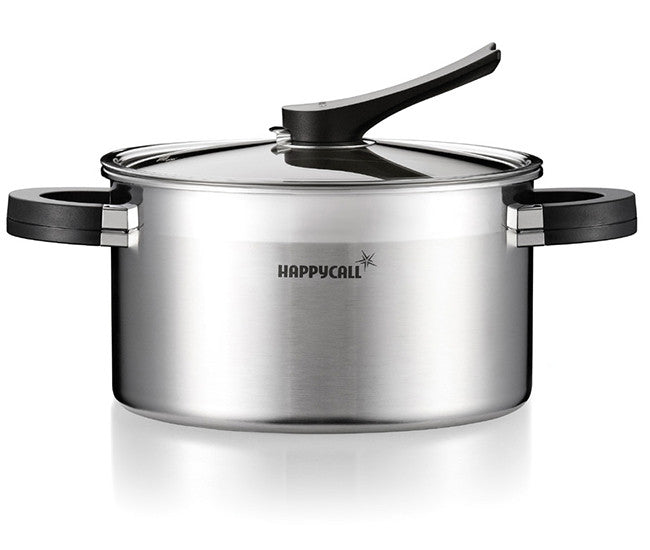 Happycall Stainless Steel Pot (High)- 24cm