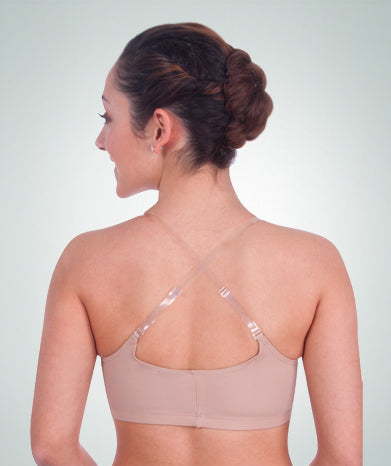 Detachable Clear Bra Straps - Shiny Finish