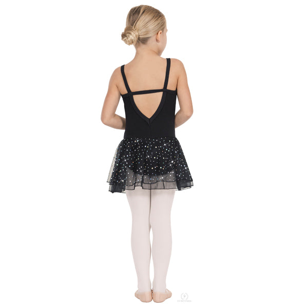 Sparkle Camisole Leotard with Skirt