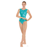 Adult Holographic Waves Leotard
