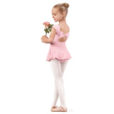 Angelica Bow Back Leotard with Skirt