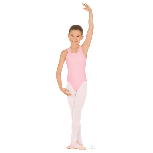 Little Britney Child A Line Halter Leotard