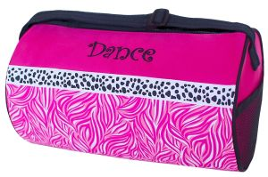 Candy Swirl and Dalmatian Duffel