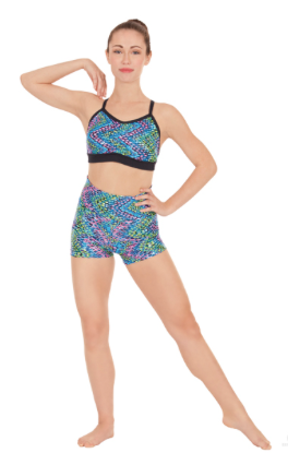 Adult Dizzy Dots Convertible Shorts