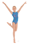Child Holographic Wind Gymnastics Leotard