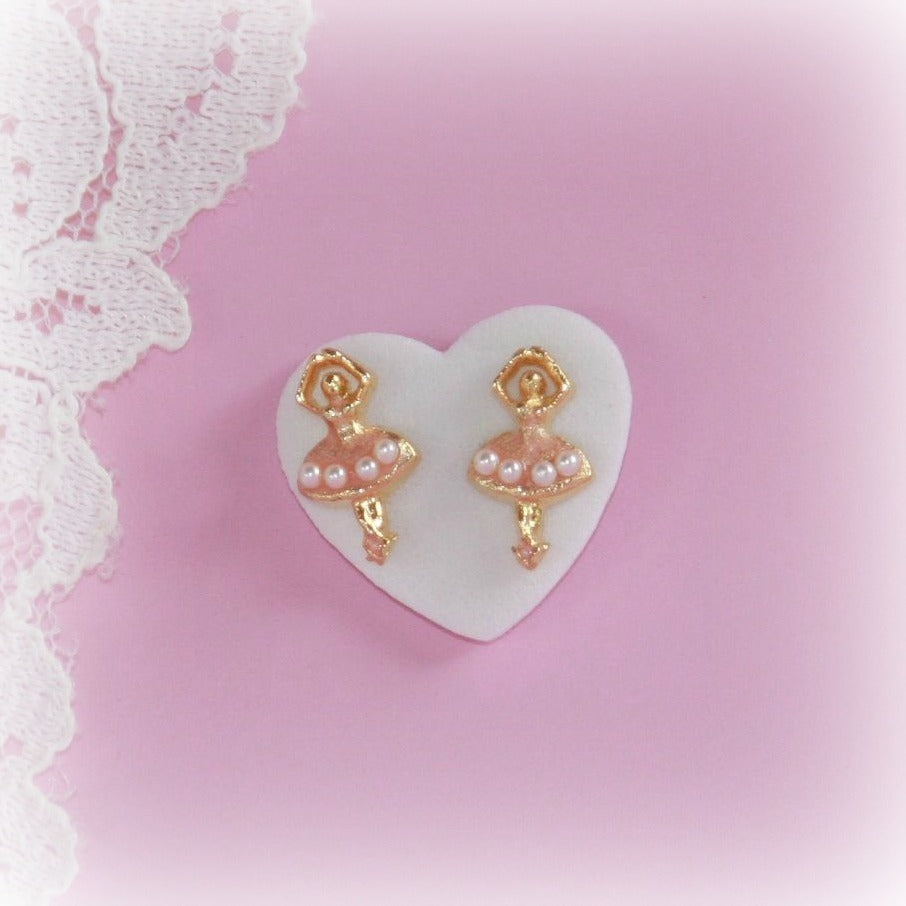 Ballerina Post Earrings
