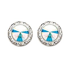 Aurora Borealis Swarovski Performance Earrings (12mm/17mm)