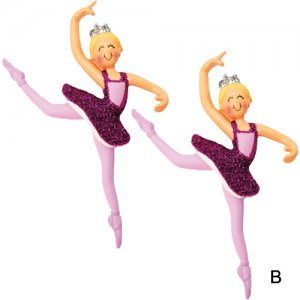 Sugarplum Fairy Nutcracker Ornaments