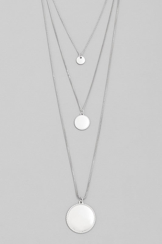 Classic Coin Necklace Set
