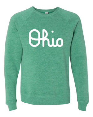 Green Ohio Crewneck Sweatshirt