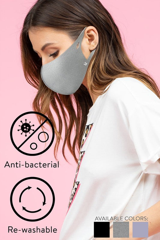ANTIBACTERIAL ADULT MASK A- ALL SALES FINAL