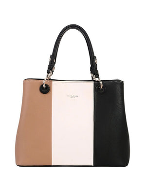 Color Block Handbag