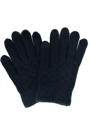 Waffle Textured Touch Screen Gloves