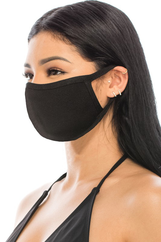 UNISEX POLYESTER REUSABLE AND WASHABLE FABRIC FACE MASK