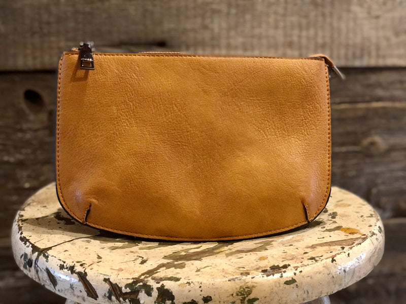 Crossbody with Three Compartments and Wristlet Strap