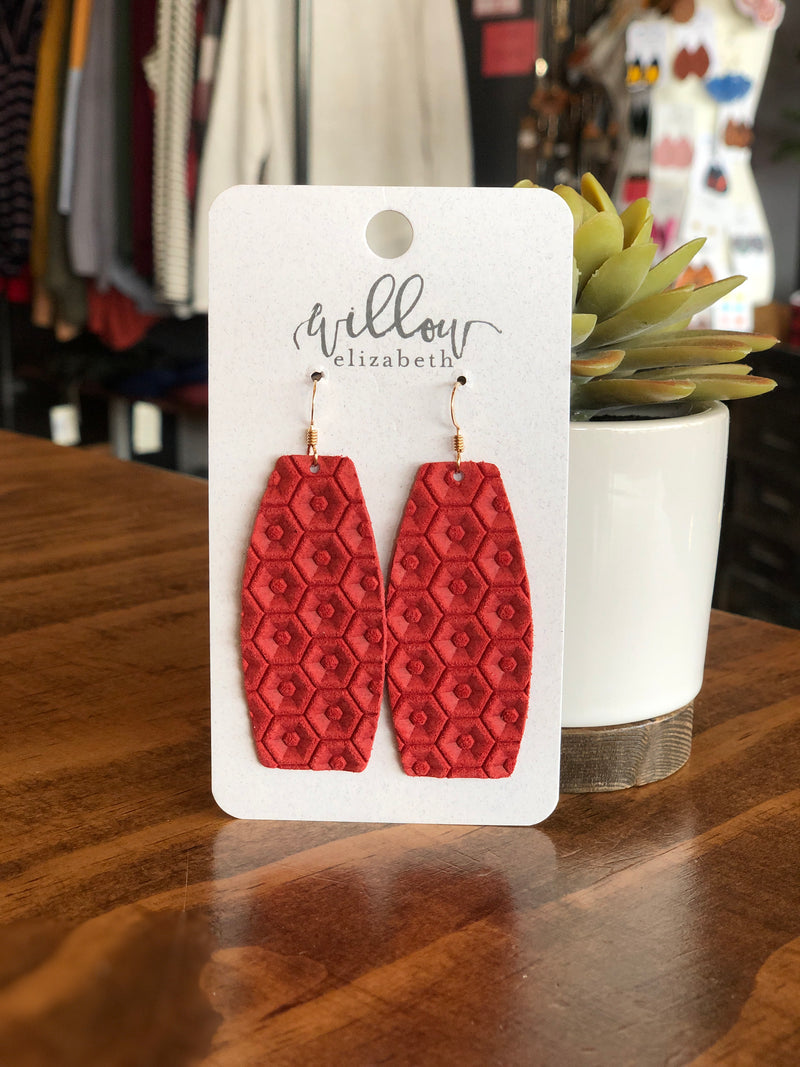 Willow Elizabeth - Elle Style - Royal Red