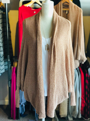 Maple Long Batwing Sleeve Cardigan