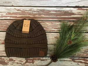 C.C. Beanie Solid Color - Various Colors