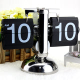 Classic Retro Flip Page Table Desk Clock - The Urban Fest eStore