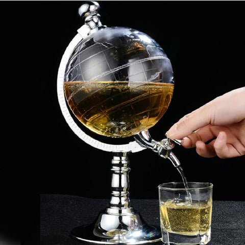 Creative Mini Globe Liquor Dispenser - The Urban Fest eStore