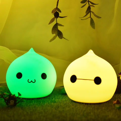 Cute Waterdrop Battery/Rechargeable LED Night Light - The Urban Fest eStore