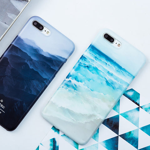 Painting Soft Silicone Case for iPhone - The Urban Fest eStore