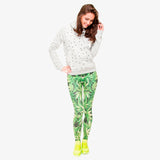 Weeds Print Legging - The Urban Fest eStore