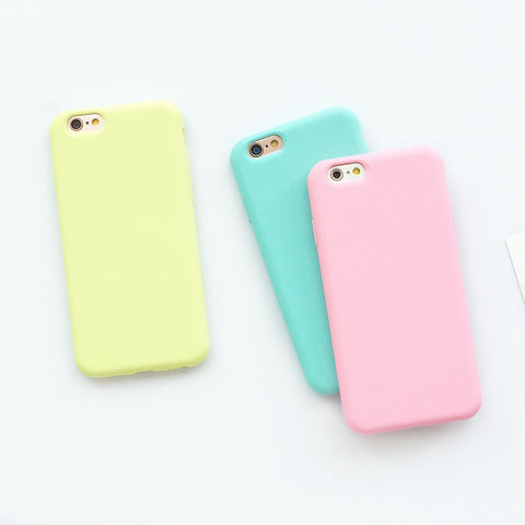 Macarons Color Soft Case for iPhone - The Urban Fest eStore