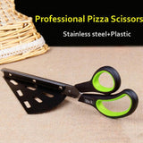 2-in-1 Pizza Scissors Spatula - The Urban Fest eStore