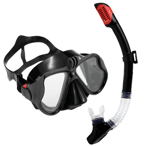 Mask and Scuba Diving/Snorkelling Set for GoPro Underwater Camera - The Urban Fest eStore