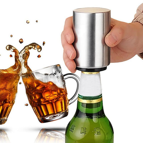 Push Down Pop Off Bottle Opener - The Urban Fest eStore