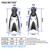 Professional Long Scuba Diving/Snorkelling Fins for Adult - The Urban Fest eStore