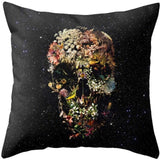Bohemia Skull Throw Pillow Case - The Urban Fest eStore