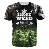 Weed & Drugs Print T-Shirt - The Urban Fest eStore