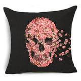 Decorative Skull Throw Pillow Case - The Urban Fest eStore