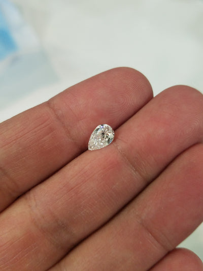 1.04 Carat D Si1 Pear Shape Diamond Certified 100% Natural Gorgeous!