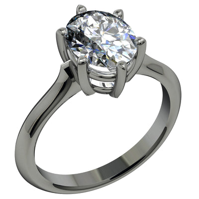 2.08 Carat Oval Shape Diamond G Si1 11 X 7 Must See Available in Yellow Gold or White Gold!!