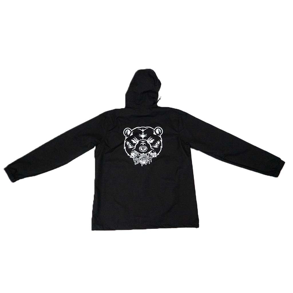 ANORAK WINDBREAKER | BLACK