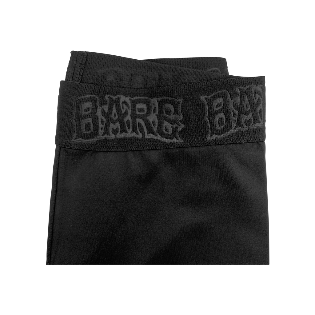 Bare Biker Shorts - Black