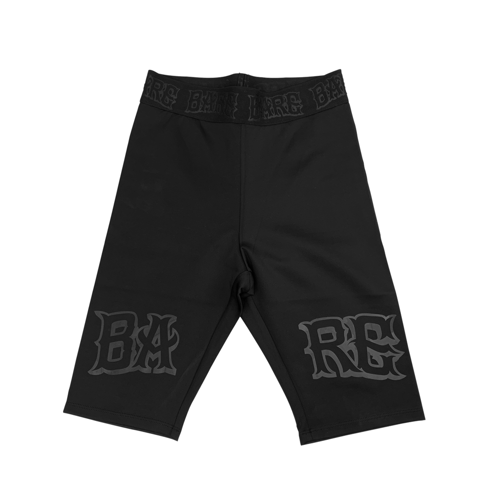 BARE BIKER SHORTS | BLACK