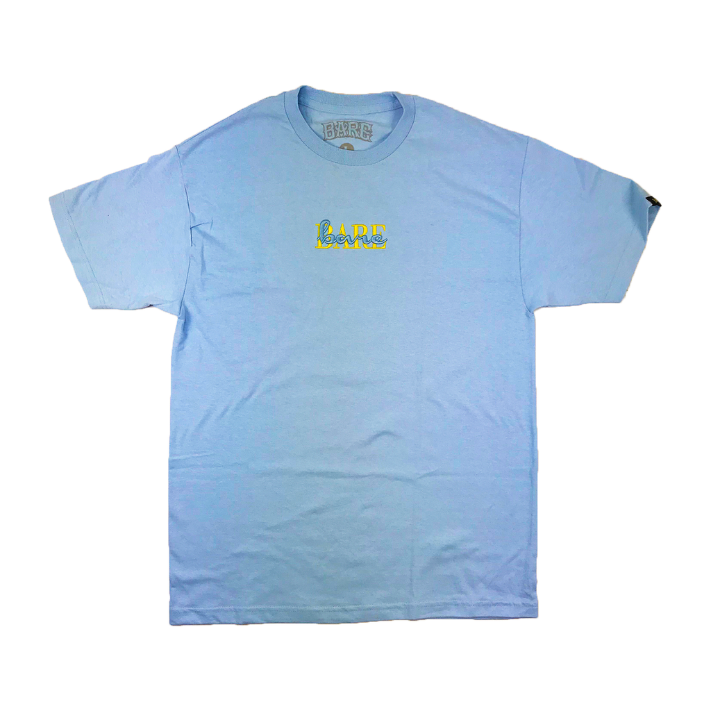 PASTEL DOUBLE VISION TEE | BLUE