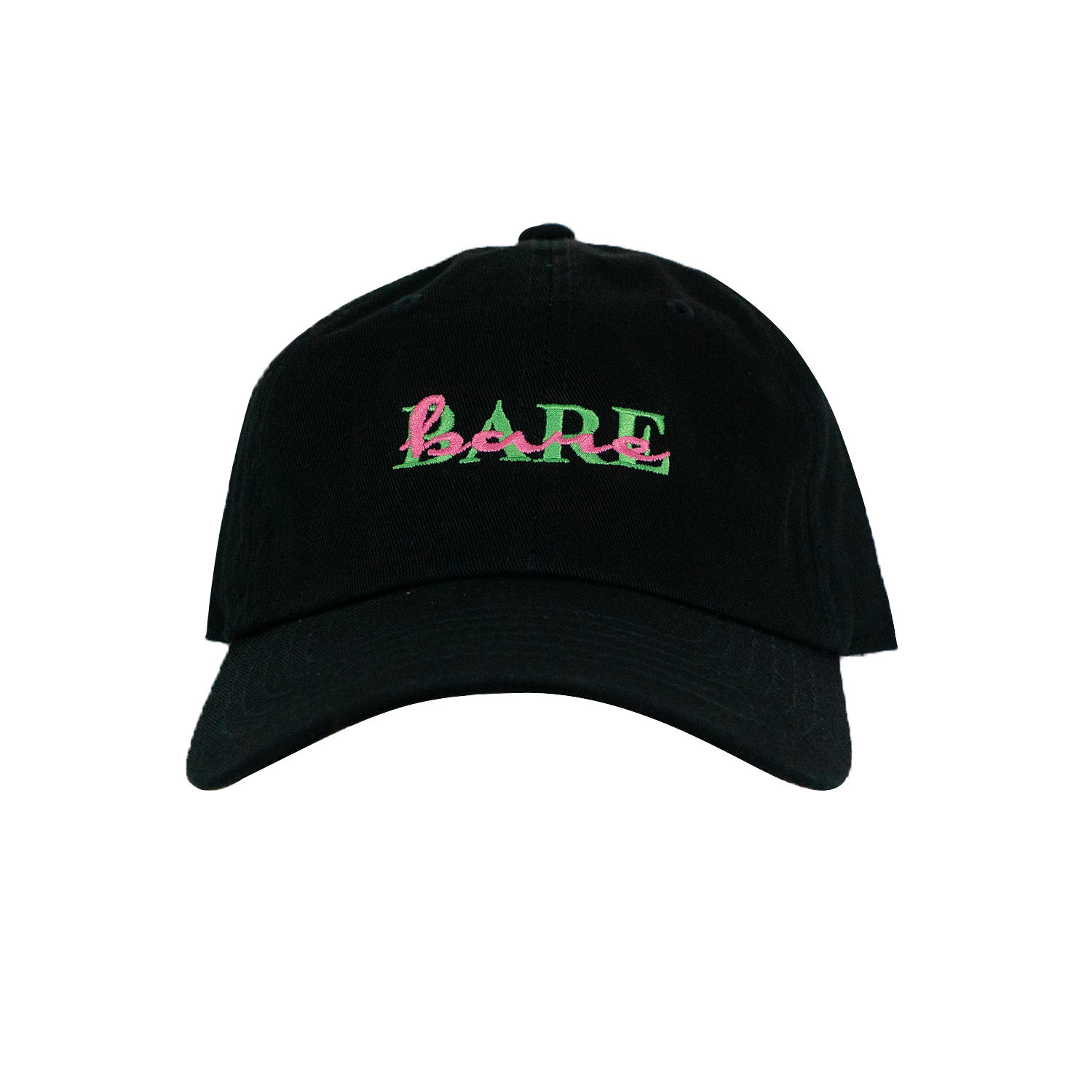 DAD HAT | DOUBLE VISION GREEN/PINK