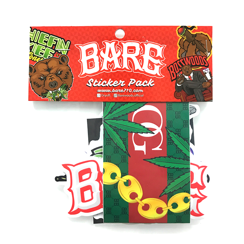 BARE STICKER PACK V.3 - 10 STICKERS