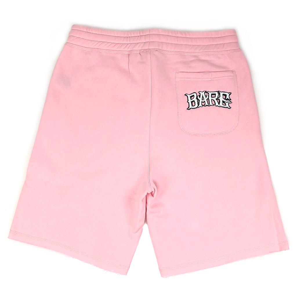 BARE ATHLETIC COTTON SHORTS