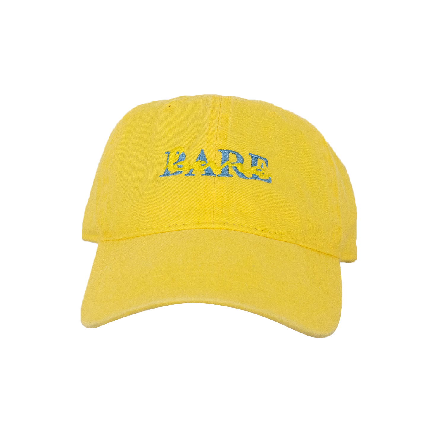 DAD HAT | DOUBLE VISION YELLOW/BLUE