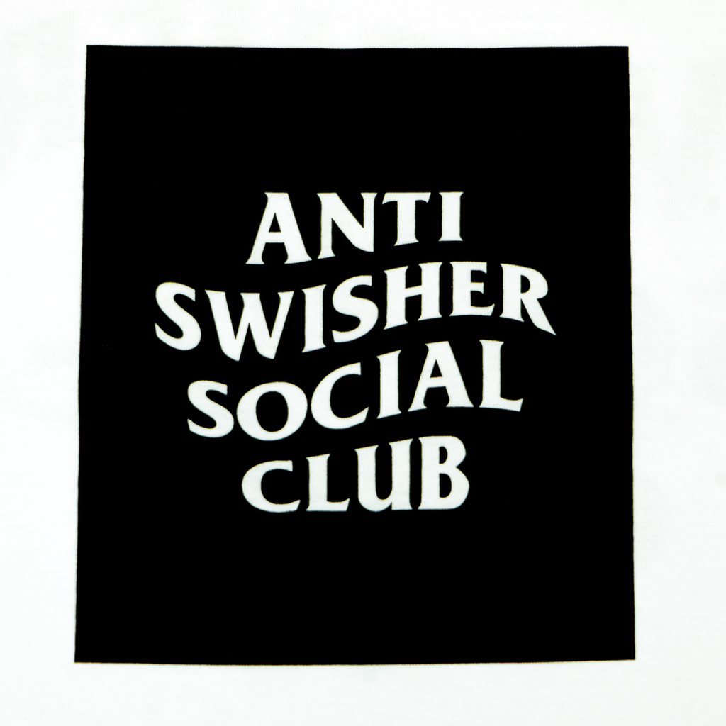 ANTI SWISHER SOCIAL CLUB TEE | WHITE