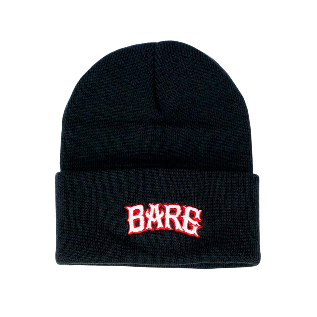 BEANIE | WHITE & RED