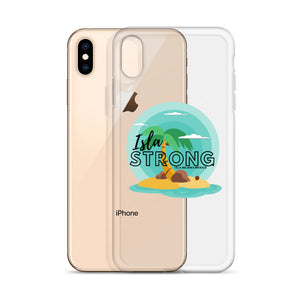 Isla Strong Colorful Island iPhone Case