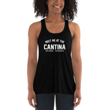Meet me at the Cantina Women's Flowy Racerback Tank